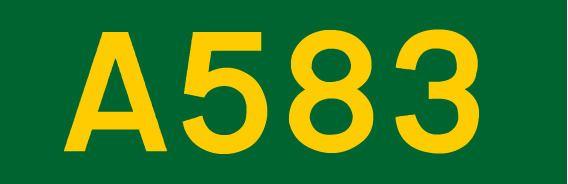 A583 road