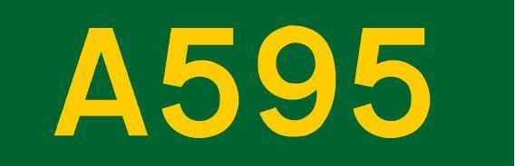 A595 road