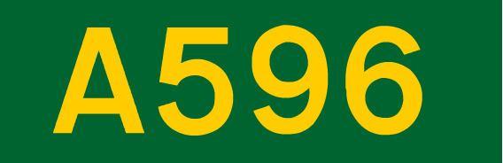 A596 road