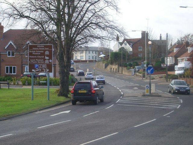 A602 road