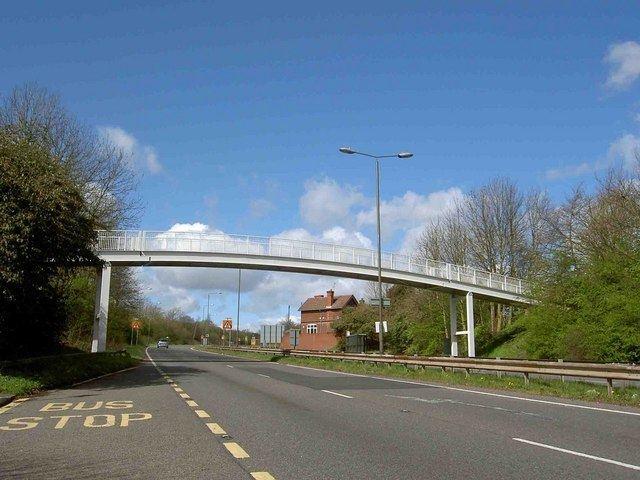 A617 road