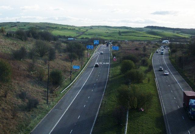 A627(M) motorway
