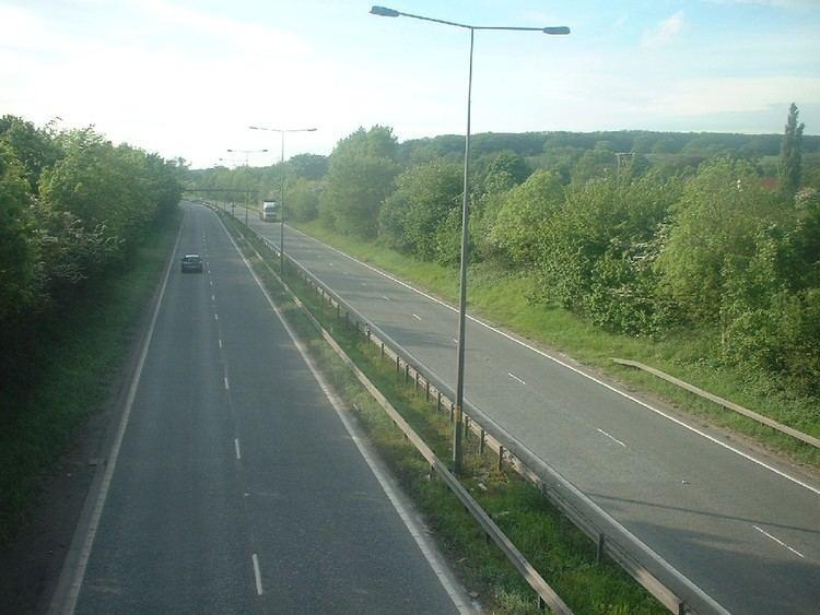 A63 road