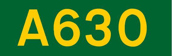 A630 road