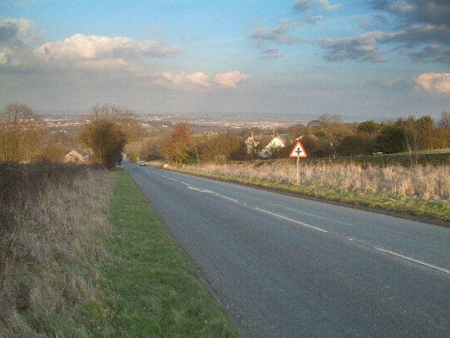 A632 road
