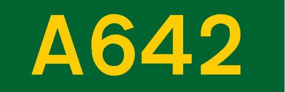 A642 road