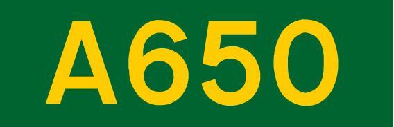 A650 road