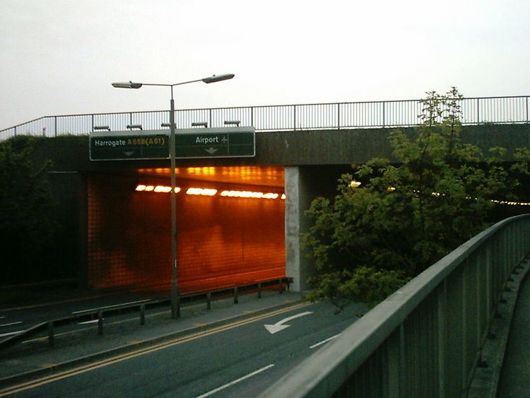A658 road