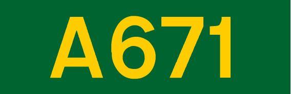 A671 road