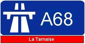 A68 autoroute