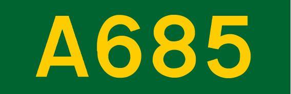 A685 road
