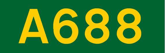 A688 road