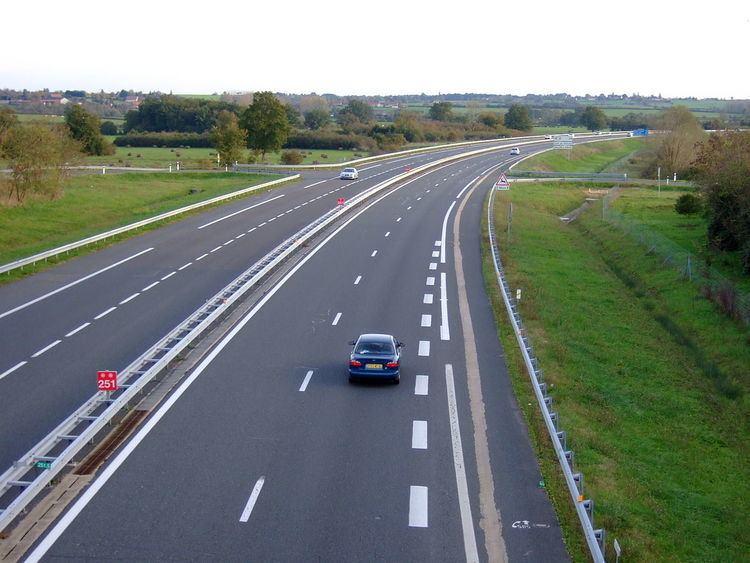 A71 autoroute