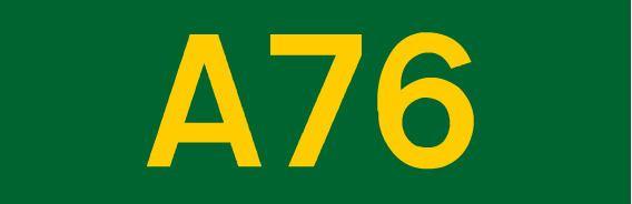 A76 road