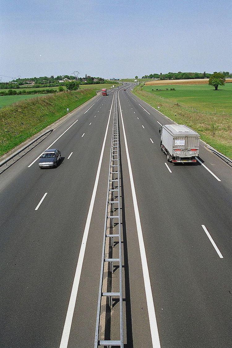 A77 autoroute