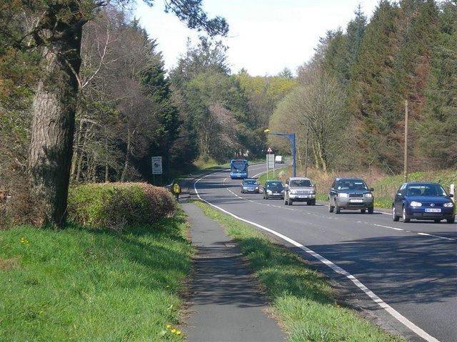 A77 road