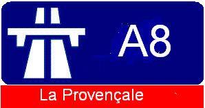 A8 autoroute