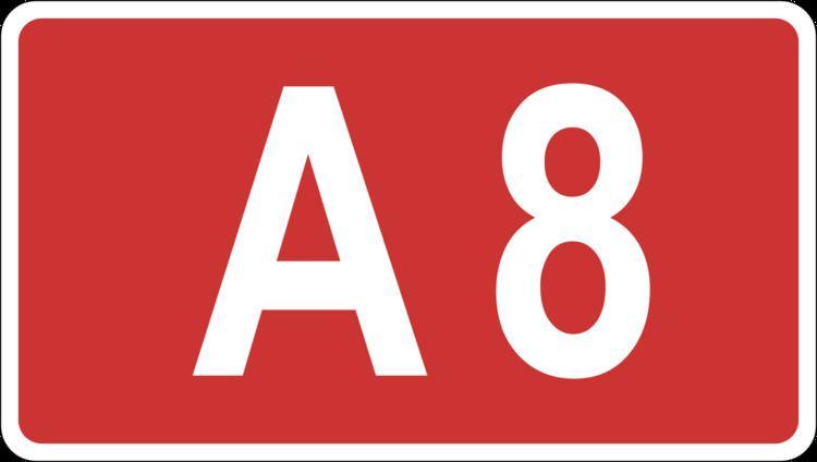 A8 road (Latvia)