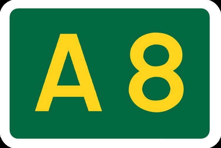 A8 road (Scotland)