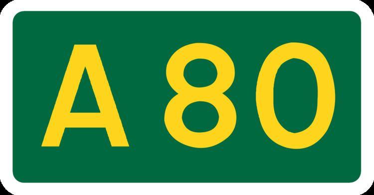 A80 road (Scotland)