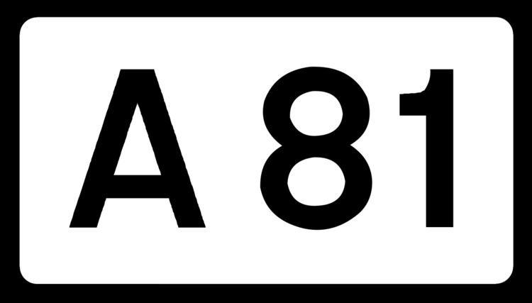 A81 road