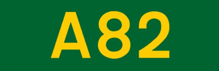 A82 road