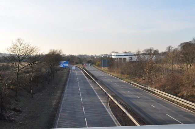A823(M) motorway