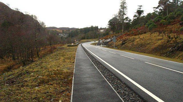 A830 road