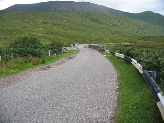 A838 road