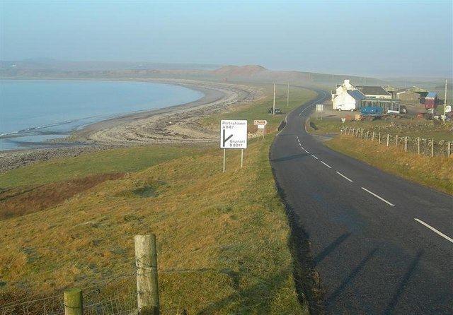 A847 road