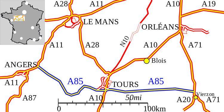 A85 autoroute