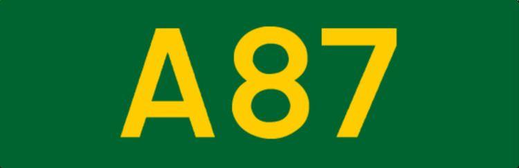 A87 road