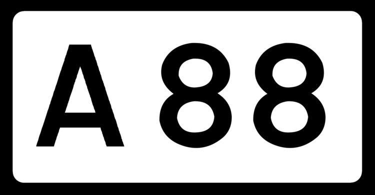 A88 road