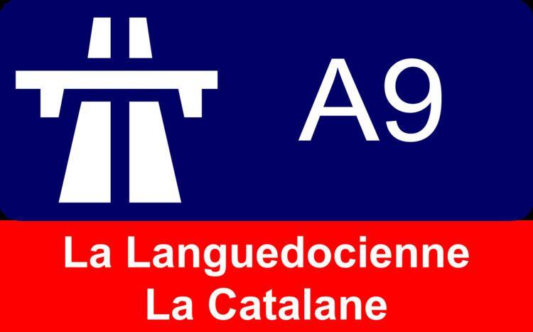 A9 autoroute