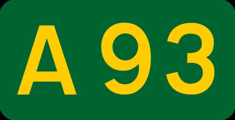 A93 road