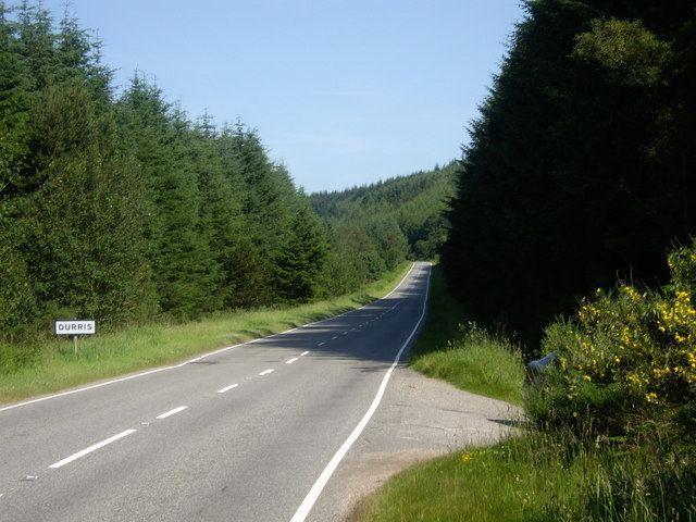 A957 road