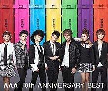 AAA 10th Anniversary Best httpsuploadwikimediaorgwikipediaenthumbe