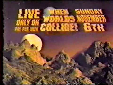 AAA When Worlds Collide When Worlds Collide 1994 Pre Show YouTube