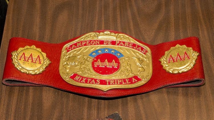 AAA World Mixed Tag Team Championship