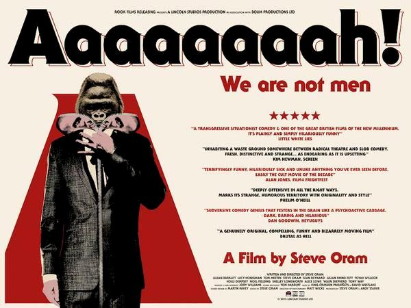Aaaaaaaah! Daily Dirt Diaspora MEDIAVORE FILM AAAAAAAAH WE ARE NOT MEN