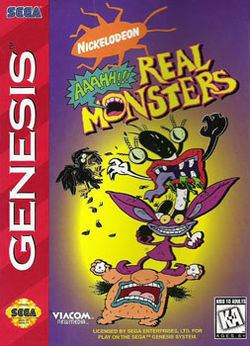 Aaahh!!! Real Monsters (video game) Aaahh Real Monsters video game Wikipedia
