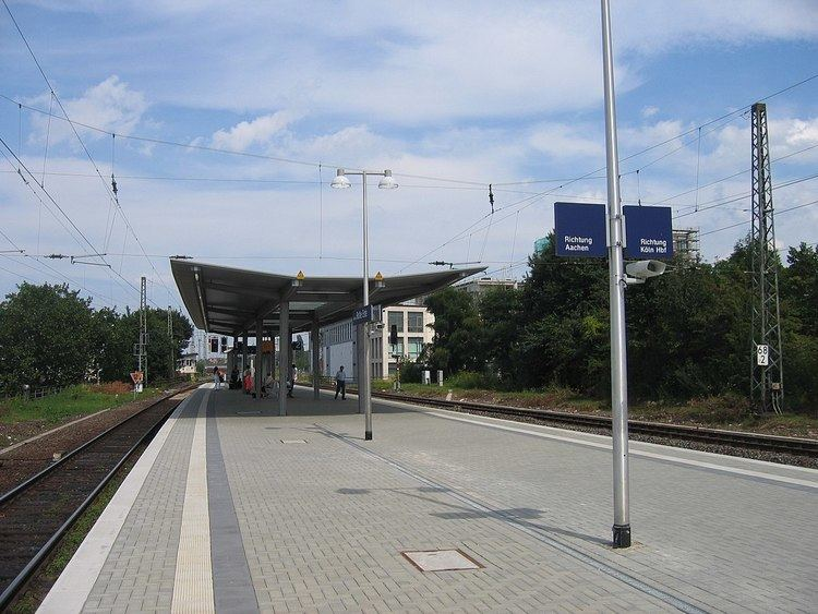 Aachen-Rothe Erde station