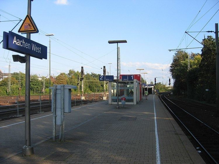 Aachen West station