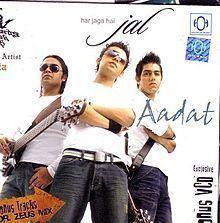 Aadat (album) httpsuploadwikimediaorgwikipediaenthumb0