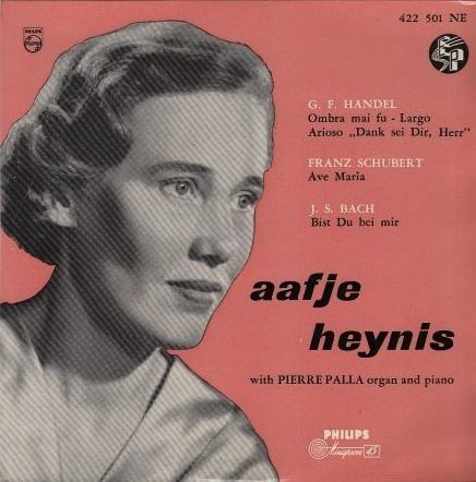Aafje Heynis Aafje Heynis Bach Cantatas amp Other Vocal Works Discography