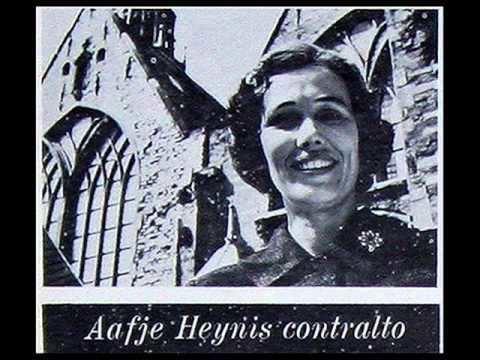 Aafje Heynis Bach Aafje Heynis 1958 Cantata No 169 Gott soll allein mein