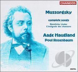 Aage Haugland Aage Haugland Bass Poul Rosenbaum Pi Mussorgsky Complete Songs