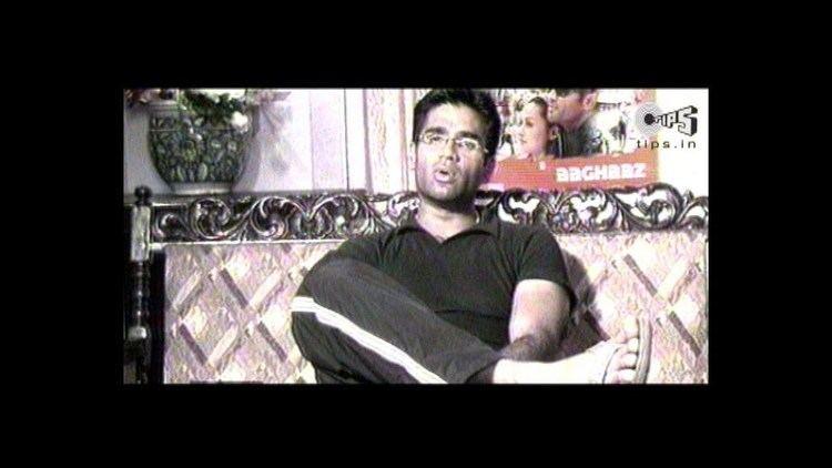 Aaghaat movie scenes Aaghaaz Movie Making Sunil Shetty