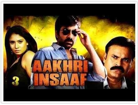 Aakhri Insaaf Hindi Dubbed Full Movie Download 2017 720p 480p