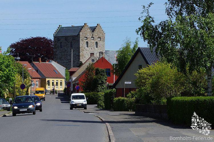 Aakirkeby Aa Kirche Aakirkeby Bornholm Bornholms grte Kirche Bornholm